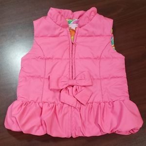 Lilly Pulitzer Puffer Vest with Bow